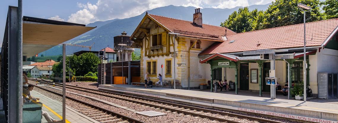Bahnhof Latsch