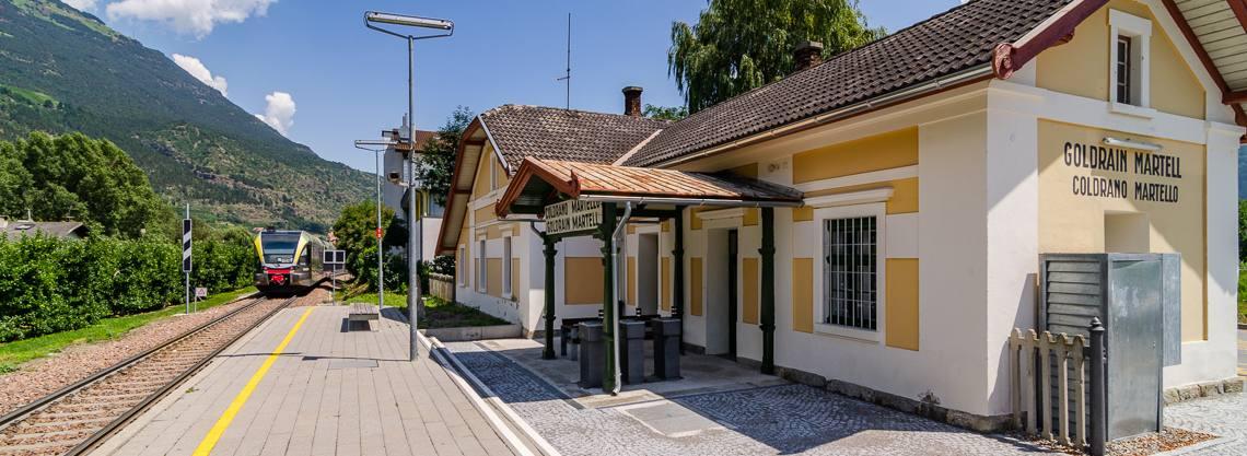 Bahnhof Goldrain - Martelltal