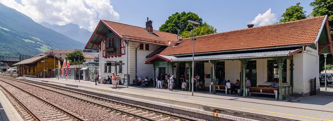Bahnhof Schlanders