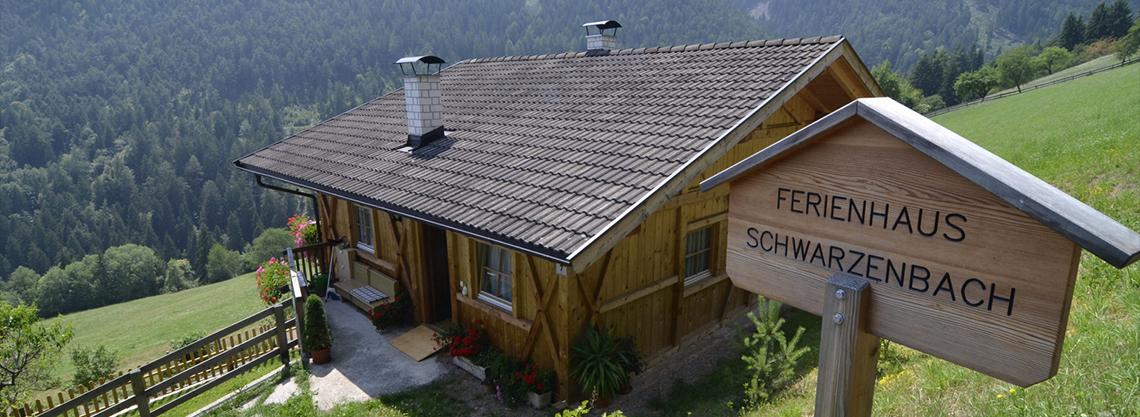 Ferienhaus Schwarzenbach für Familien
