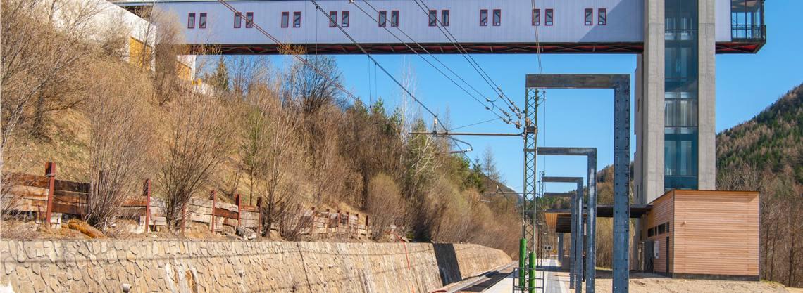 Bahnhof Percha